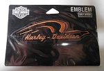 Harley-Davidson Orange Eagle Outline Emblem, HD28