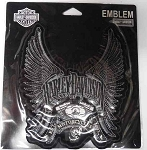 Harley-Davidson Wings and Motor Patch
