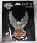 Harley-Davidson Upwinged Bald Eagle Patch, EMB328062