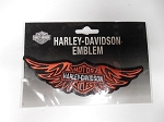Harley-Davidson Logo w/Wings Patch, HD132