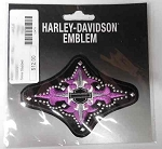 Harley-Davidson Purple Cross Emblem Patch, HD71