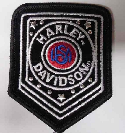 Harley-Davidson USA Emblem Patch