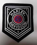 Harley-Davidson USA Emblem Patch, HD2