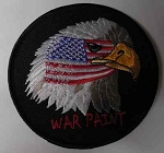 Bald Eagle w/ War Paint Patch, F620