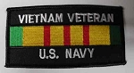 Vietnam Veteran US Navy Patch, M164
