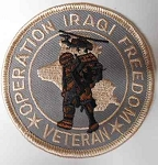 Operation Iraqi Freedom Vet Patch, M207