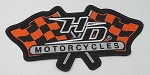 Harley Davidson Racing Flags 2X, HD29