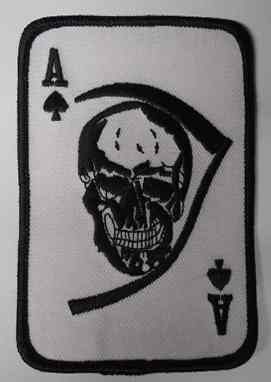 Death w/ Ace Of Spades Patch, PM0009