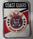 Coast Guard U.S.C.G. Patch