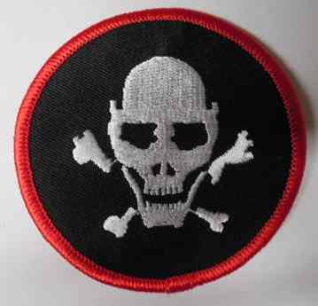 Skull and Crossbones Patch, PM0807