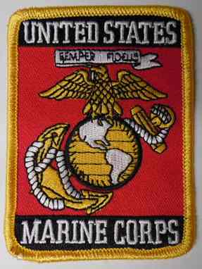 United States Marine Corps Patch, P576