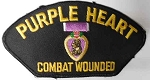 Purple Heart Combat Wounded Patch, PM1350