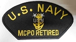 United States Navy MCPO retired Patch, PM1427