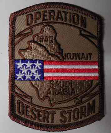 Operation Desert Storm Patch, PM5382