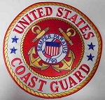 United States Coast Guard Patch, P391