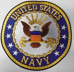 United States Navy Patch, PM9054