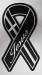Jesus Ribbon Embroidered Patch, p376