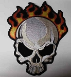 Flaming Skull Patch, p89