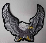 Silver Upwinged Eagle patch, p83