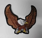 Upwinged Eagle Patch, p75