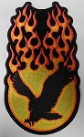 Flaming Eagle Patch, PP1337