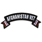 AFGHANISTAN VET Banner Embroidered Patch, p14