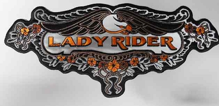 Lady Rider w/ Eagle Patch, PP6078