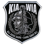 KIA WIA Embroidered Patch, p180