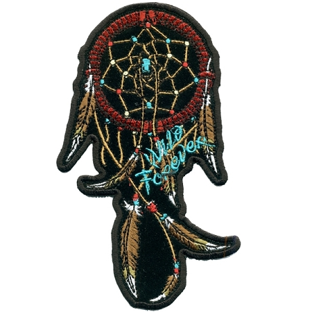 Dream Catcher Ladies Embroidered Patch, / p47, p48