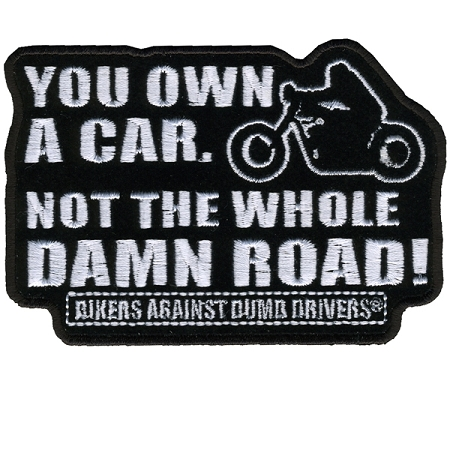 Not the Whole Road Embroidered Patch, p192