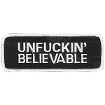 UNF**KIN  BELIEVABLE Embroidered Patch, p754