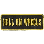 HELL ON WHEELS Embroidered Patch, p716
