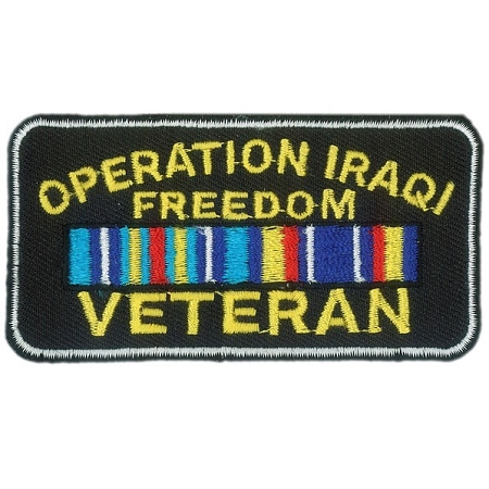 IRAQI FREEDOM Embroidered Patch, p545
