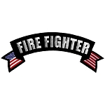 Firefighter Embroidered Patch, p225