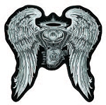 ASPHALT ANGEL LADIES - Embroidered patch, p77 p78