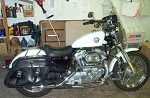 Saddlebags for Sportster Large w/Lid  2.00