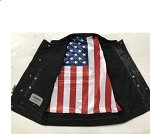Men's Club Vest with Flag Liner  6665.usa