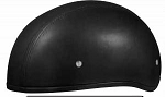 HELMET LEATHER COVERED DOT  D3-A