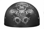 Helmet Piston Skull DOT-D6-PS