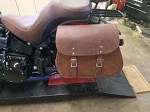 Saddlebags with Zipper Closer