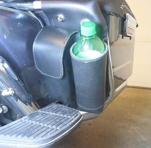 Bottle Holder & Pouch for Rear Roll Bar right