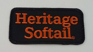 Heritage Softail Embroidered Patch, HD135