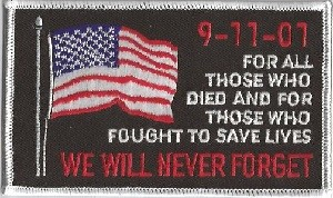 9-11-01 We Will Never Forget, 020-911