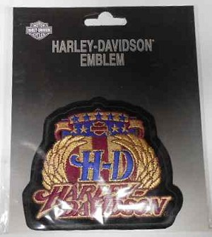 Harley-Davidson Winged Emblem Patch, HD117