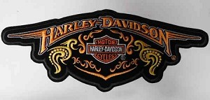 Harley-Davidson (LARGE) Emblem Patch, HD127