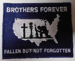 Brothers Forever Patch, M216