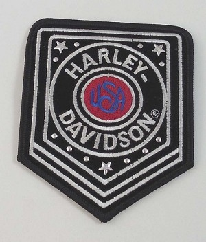 Harley Davidson Badge Studded, HD1