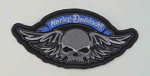 Harley Davidson Skull with Wings, HD12