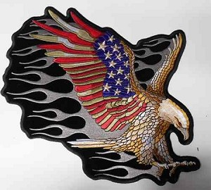 Upwinged Eagle w/ American Colored Wings, p557